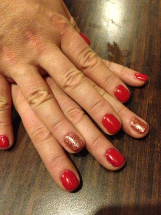 Shellac Wildfire & Rockstar | Pinkies Mobile Nails, Solihull