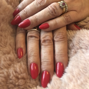 the gel bottle belladonna red nails