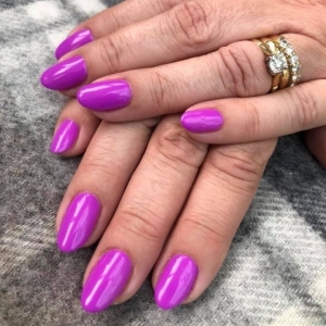the gel bottle purple margarita nails