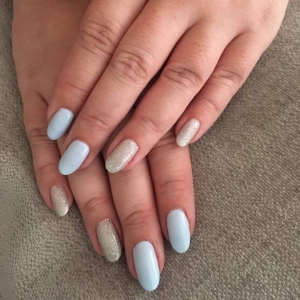 cnd shellac blue creekside nails blue